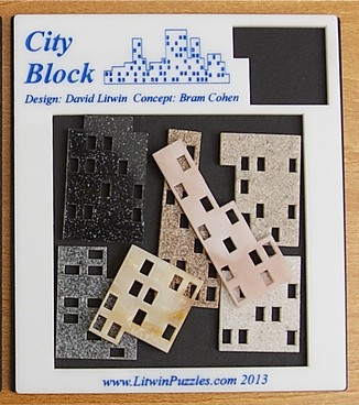 City Block comprised three sets of identical pieces with an added seventh piece that stands on its own. (Image courtesy David Litwin)