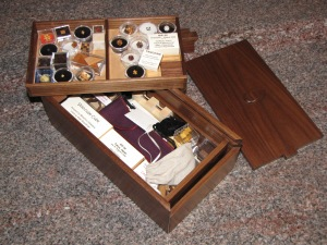 The 'Gramps' legacy box (Photo courtesy Allan Boardman)